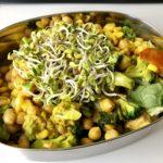 Gemüsepfanne Indisch vegan