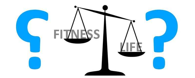 Fitness vs Life – Fluch oder Segen?